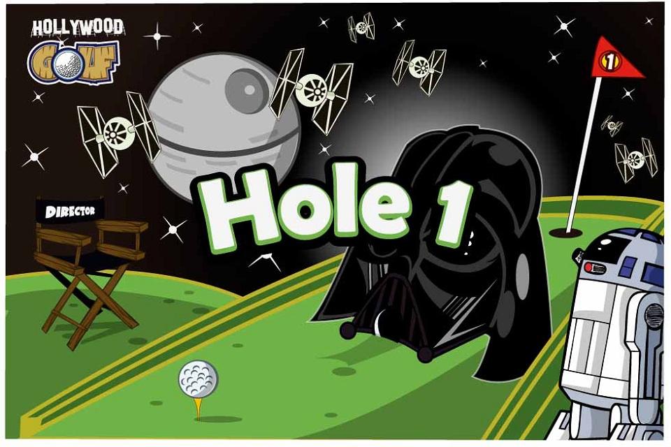 Screenshot Hollywood Golf